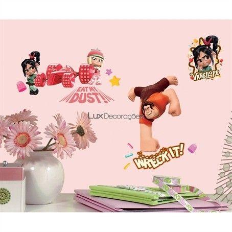 RoomMates Adesivos Disney RMK2143SCS Vinil Personagens Disney -
