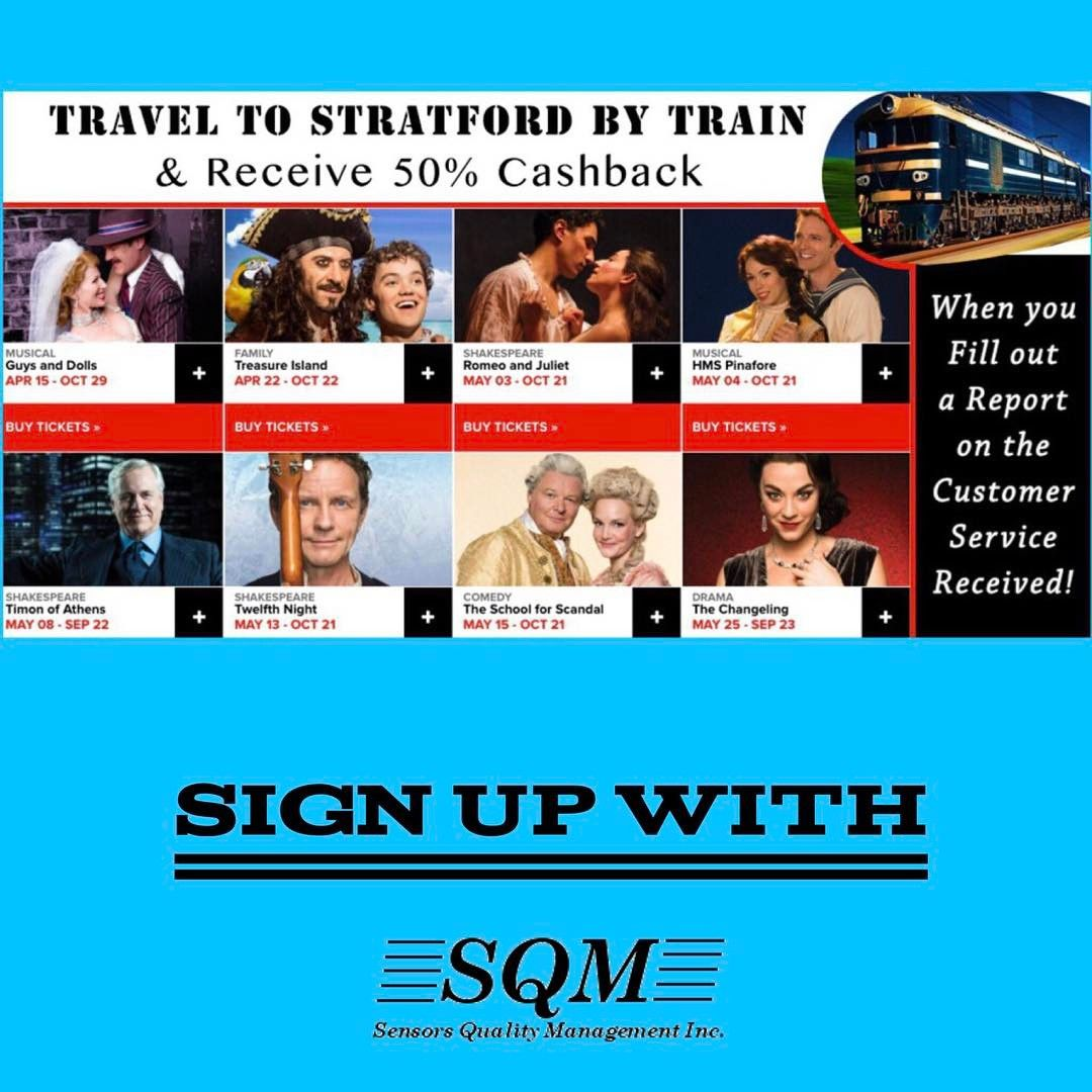 The Stratford Festival is fast approaching this April! SQM