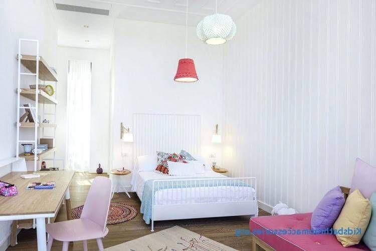 E Chambre A Coucher De Fille Blanc Et Rose En Promotion By