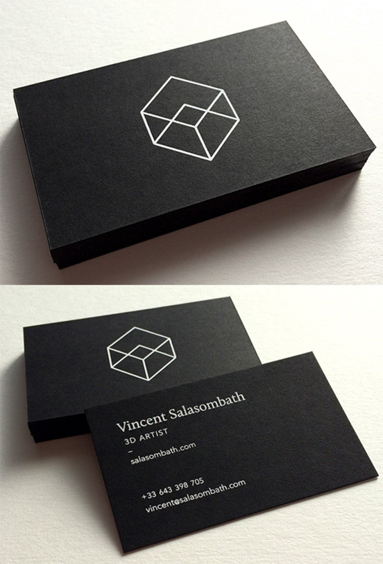 minimalist business card print design pinterest business