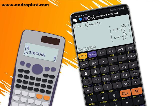 تحميل تطبيق الآلة الحاسبة العلمية المتقدمة Free Scientific Calculator Es Plus Advanced 991 Ex Premium Apk Scientific Calculator Graphing Calculator Calculator