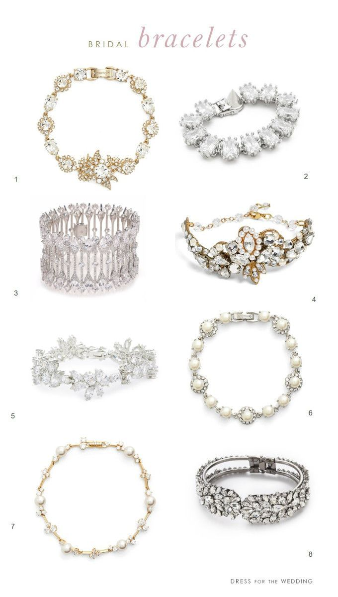 Wedding Bracelets Bridal Bracelets Wedding Bracelet Wedding Accessories Jewelry Crystal Bridal Bracelet