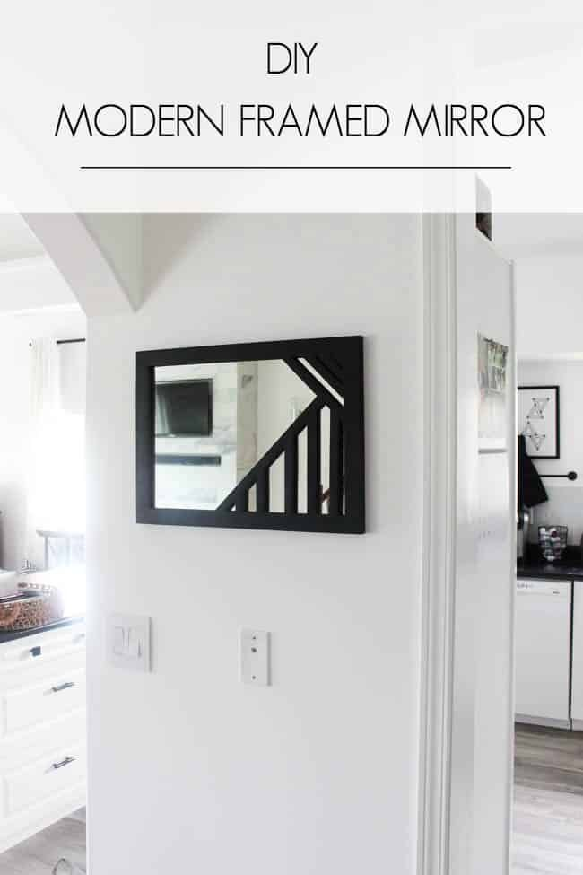 Make Your Own Custom Framed Mirrors | DIY | Build and Make ...