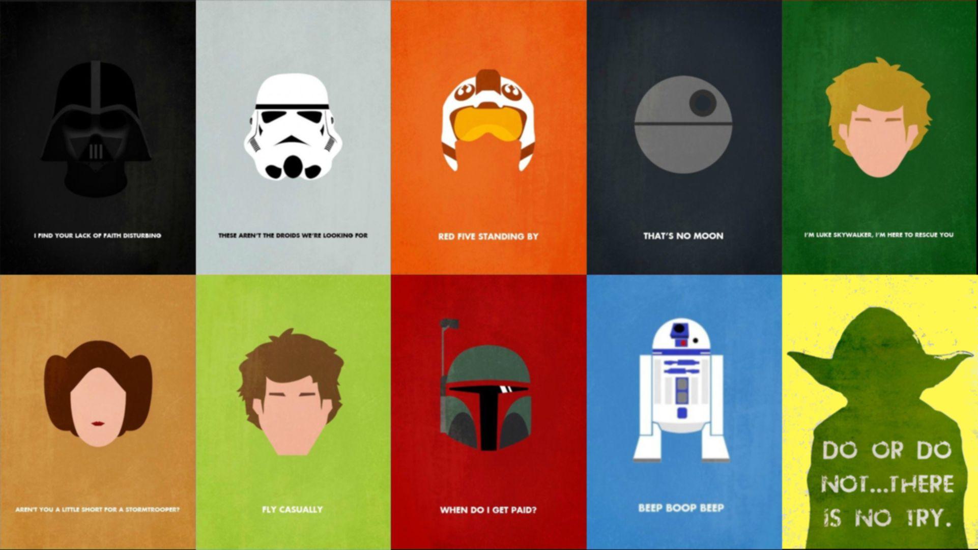 Star Wars Quote In HD HD Desktop Wallpaper, Instagram