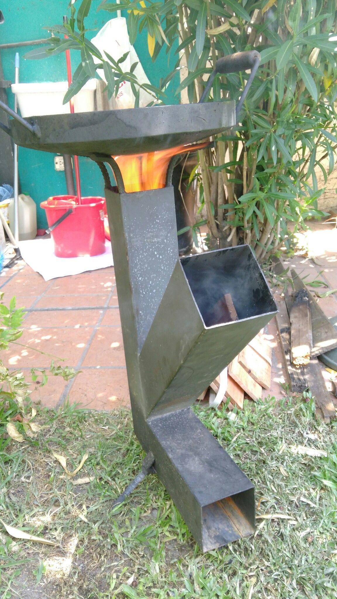 Estufa Casera Asador T Cocina Cohete Estufas Y Estufa Wood Gas