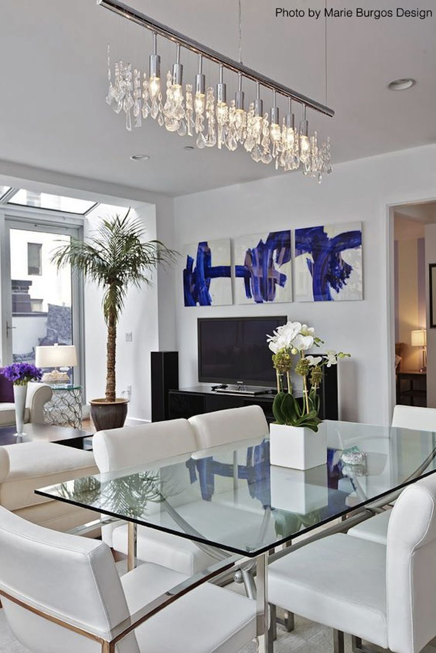 Amazing Modern Glass Dining Tables Modern Glass Dining Table