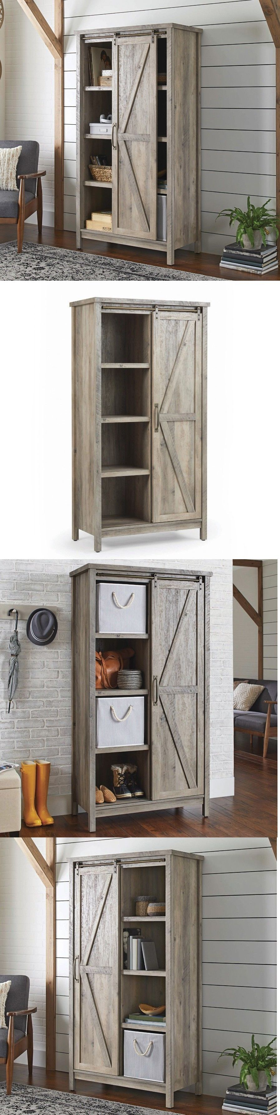 Cabinets And Cupboards 20487 Tall Storage Cabinet Country Wood Rustic Farmhouse Cab Farmhouse Pantry Cabinets Trendy Farmhouse Kitchen Tall Cabinet Storage