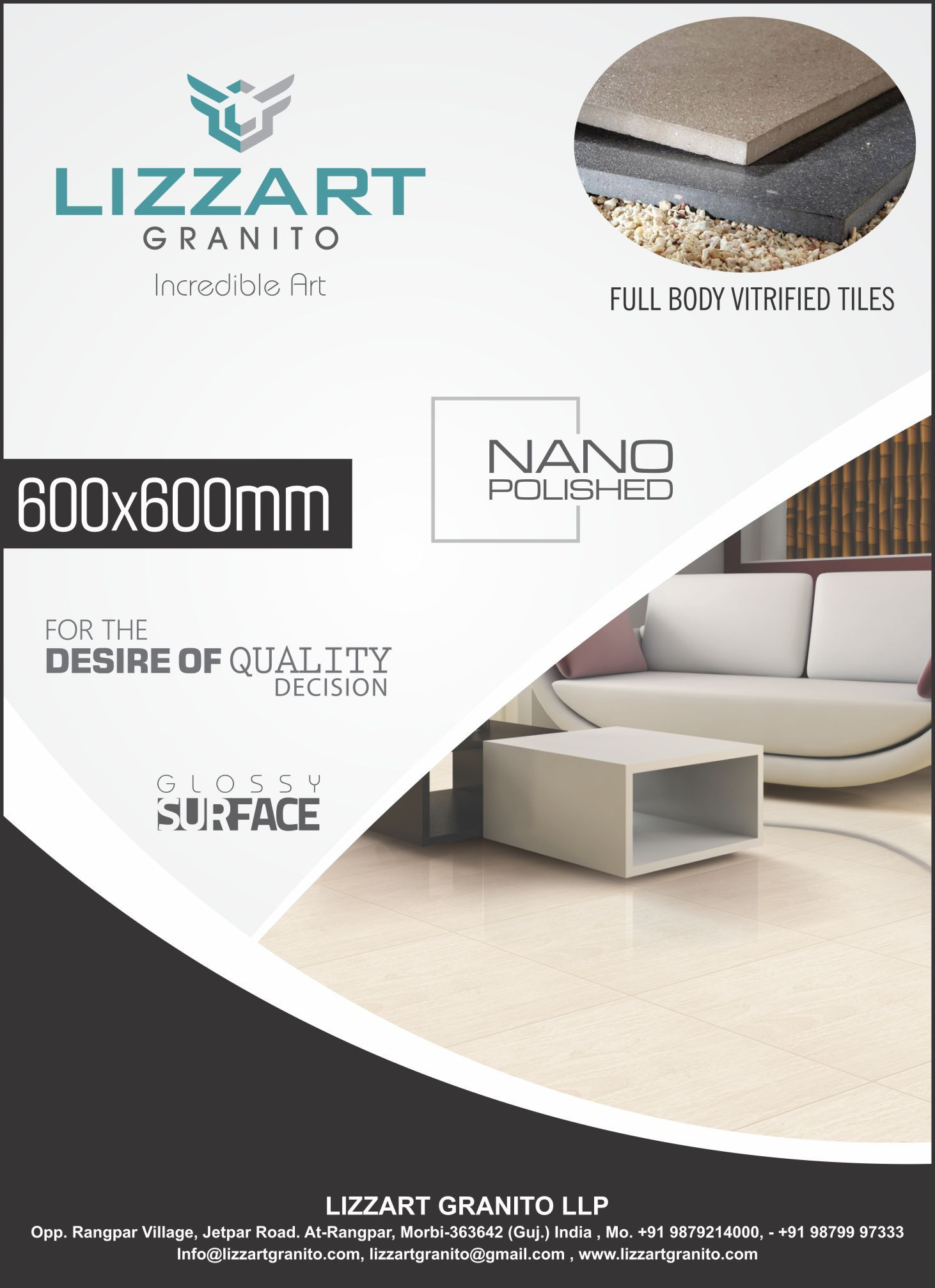 Gujarat Tiles Nano Vitrified Tiles In 2020 Vitrified Tiles Ceramic Floor Tiles Tiles Price