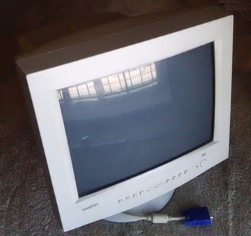 Samtron 55V Series CRT Color Monitor 14