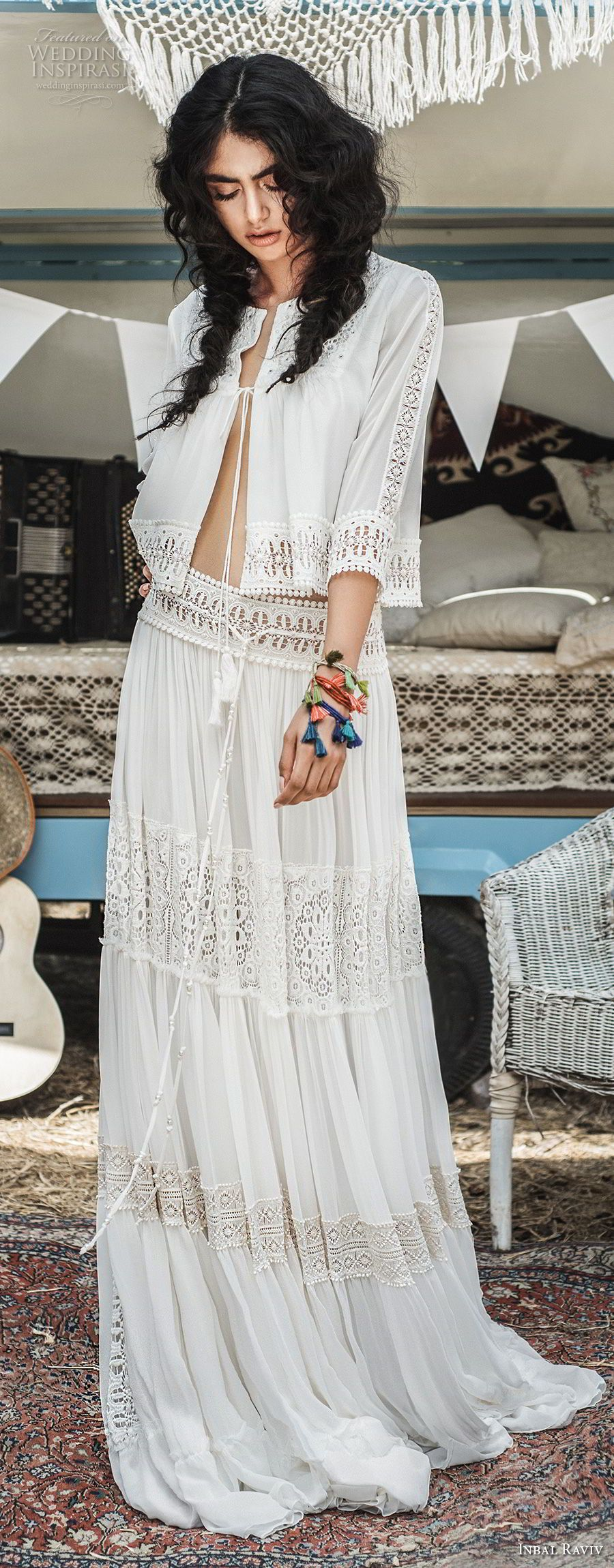 Inbal raviv wedding dresses bohemian jewel and wedding dress