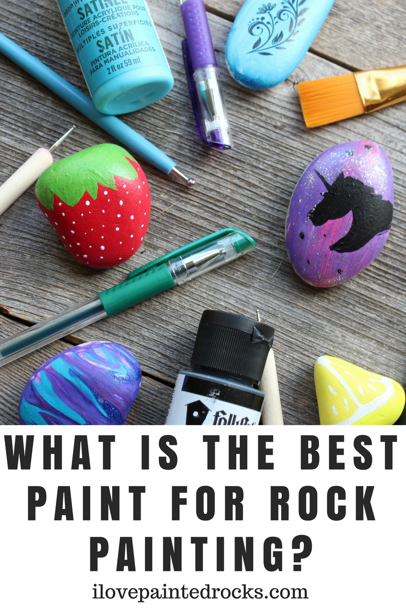 What Kind Of Paint Do You Use To Paint Rocks Rock Painting Supplies Painted Rocks Kids Painted Rocks