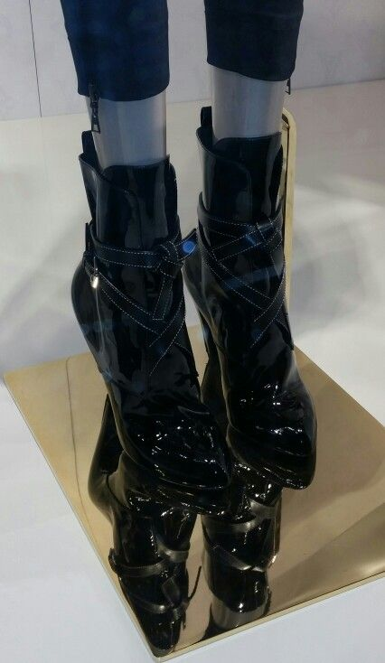 Louis Vuitton. Took this from store window on 57th Street... Love these!!!