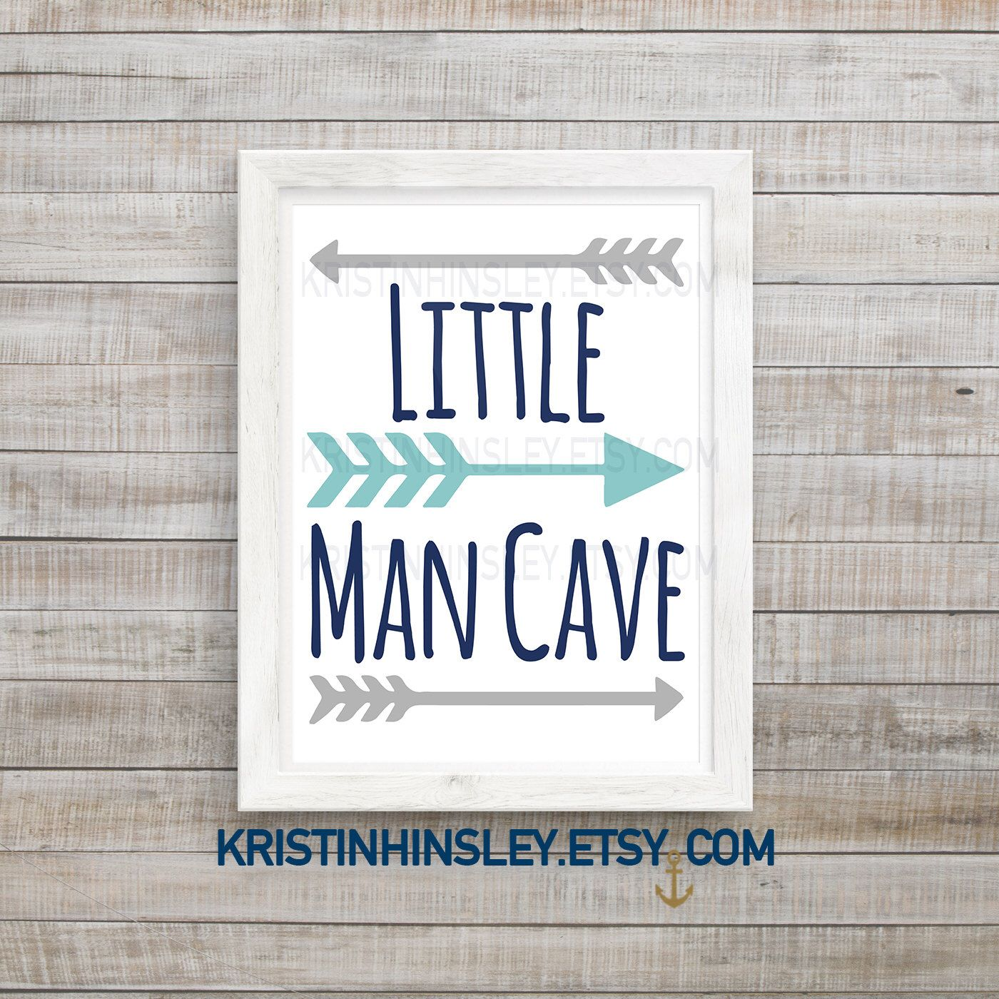 Little Man Cave Sign Nursery Wall Art Printable Nursery Etsy Nursery Wall Art Printable Boys Wall Decor Nursery Signs