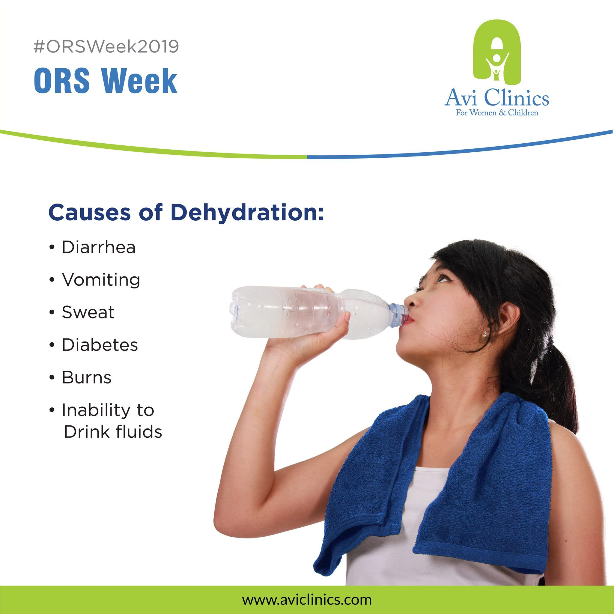 Oral rehydration solution orsweek2019 clinic ora l