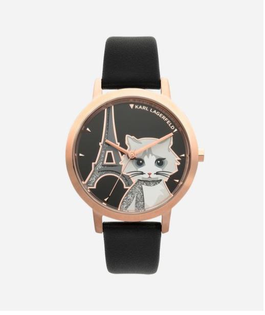 Montre Choupette à Paris Karl Lagerfeld   Cat jewels   watches ... 86575992203f