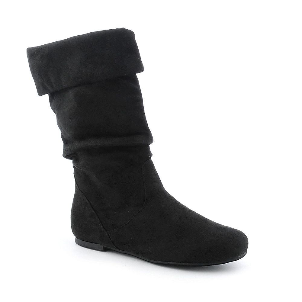 197d2df573e Shiekh Black Women s Mid-calf Boot Kalisa-27