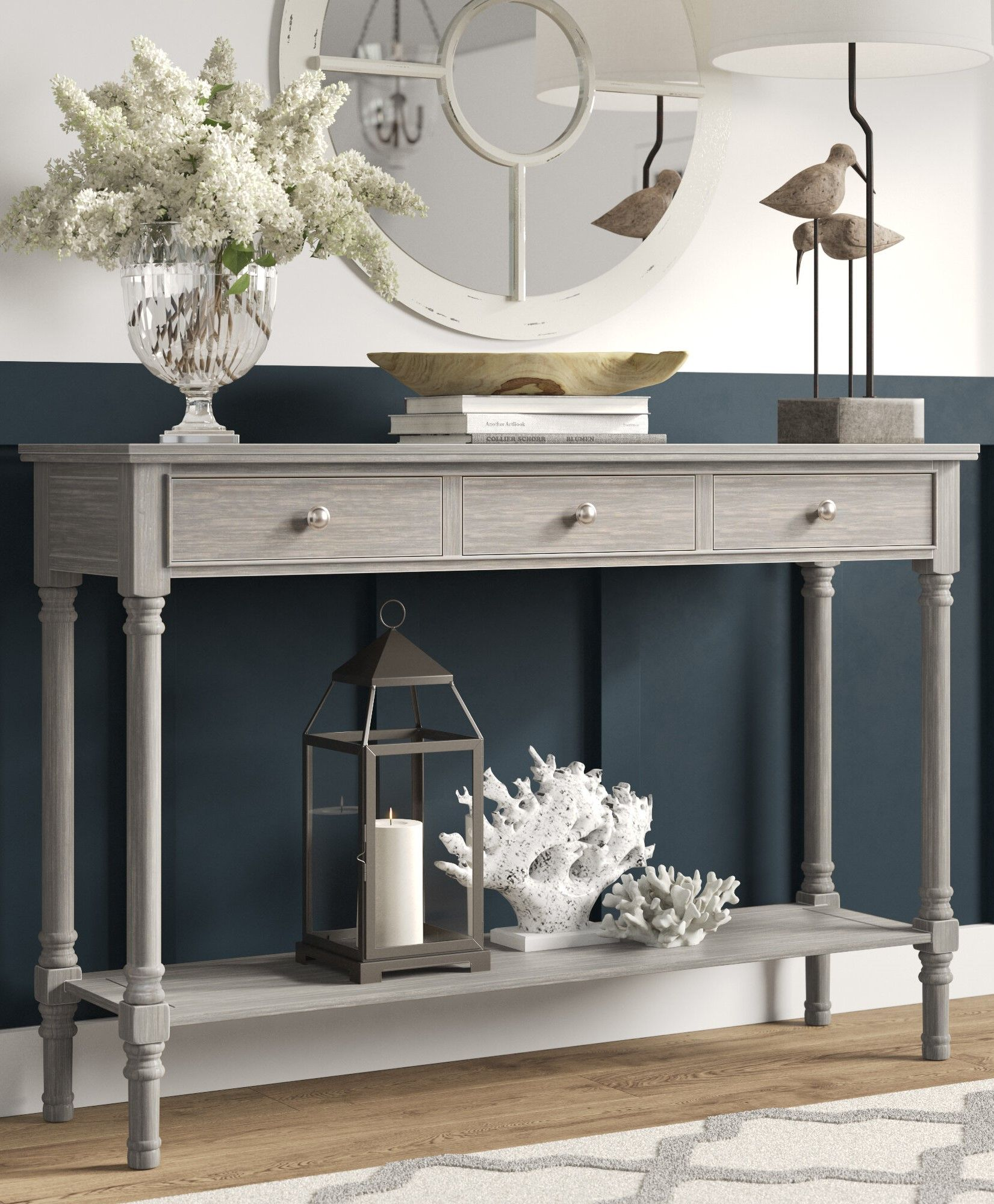 Hallway console table (in Taupe)