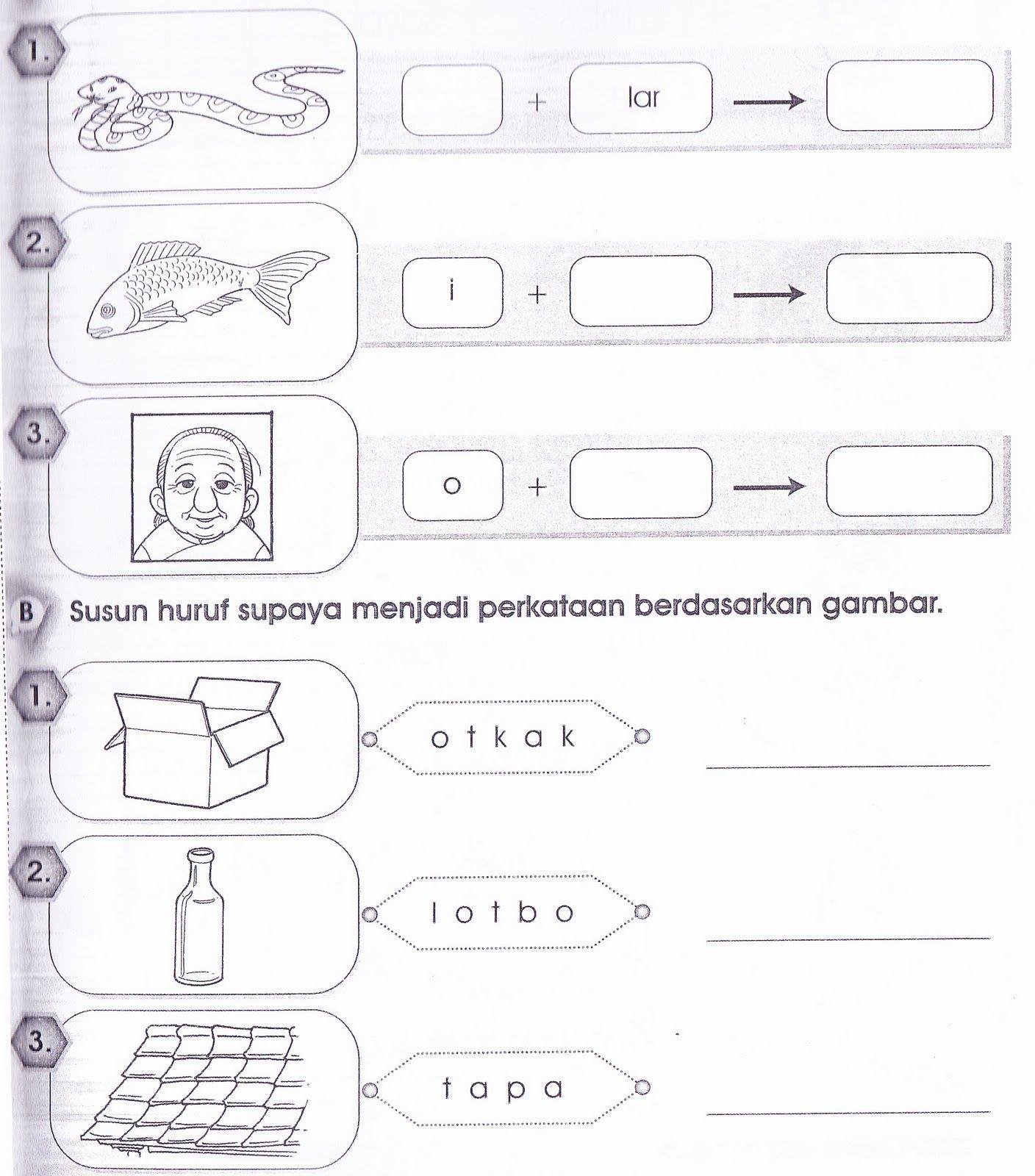 Image Result For Bahasa Latihan Tahun 1