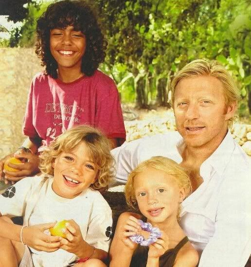 Boris Becker And Kids