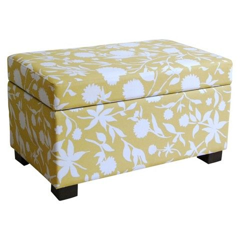 Threshold™ Medium Storage Ottoman | FamilyRooms | Pinterest