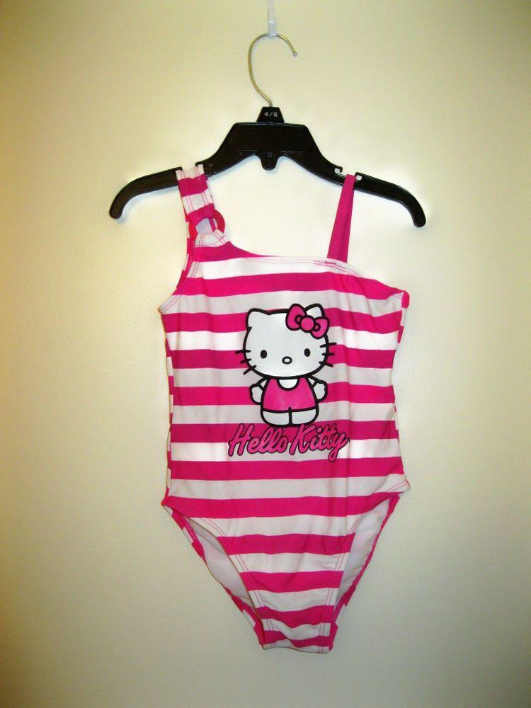 29bdf14b2e HELLO KITTY EXTRA SMALL SWIMSUIT #HelloKitty #Swimsuit Hello Kitty,  Onesies, Little Girls