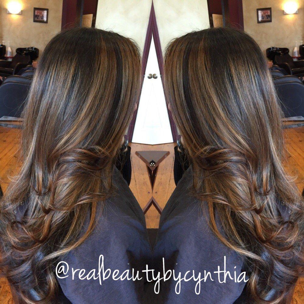 Hair by Cynthia - Encino, CA, United States. Face framing ...
