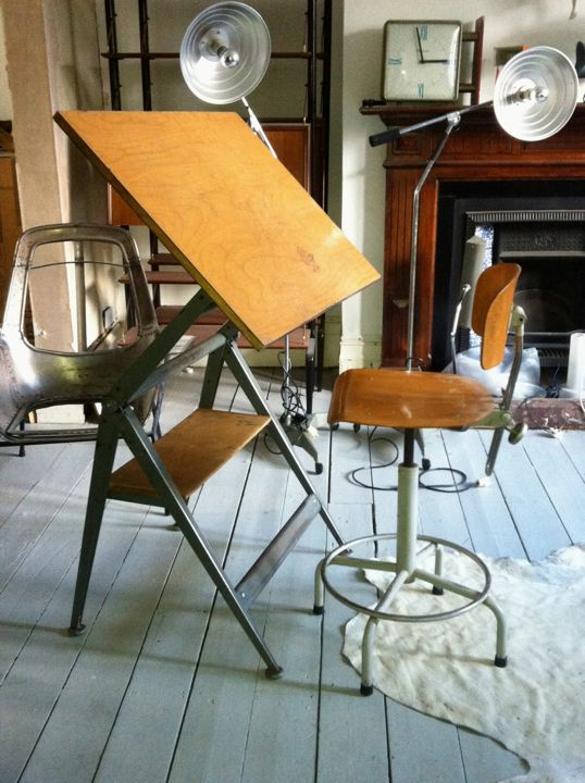 "Friso Kramer ""Reply"" Drafting Table | Matt Mitchell London"