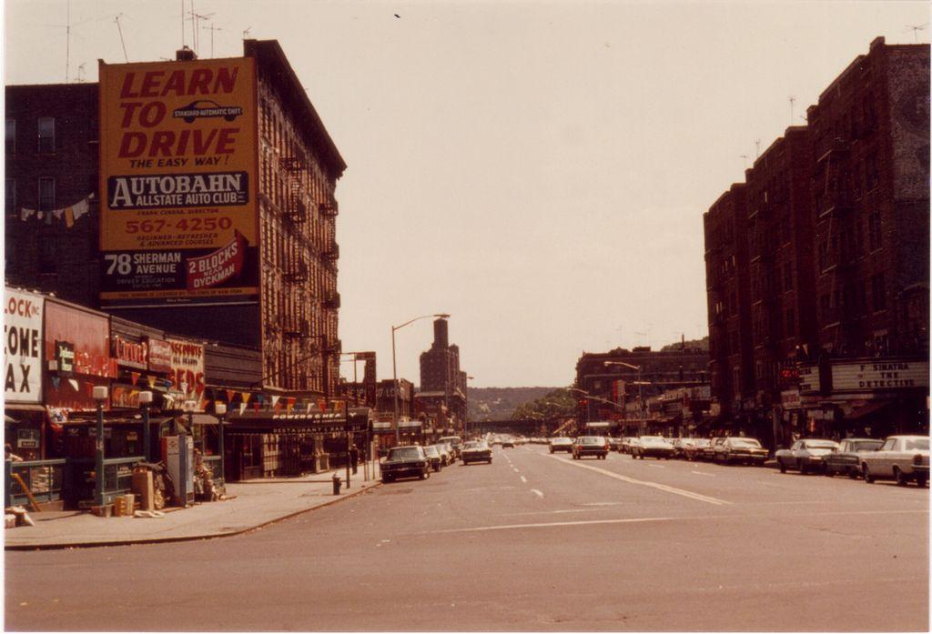 15 Dyckman St V E Fr Broadway 1968 New York City Pictures City