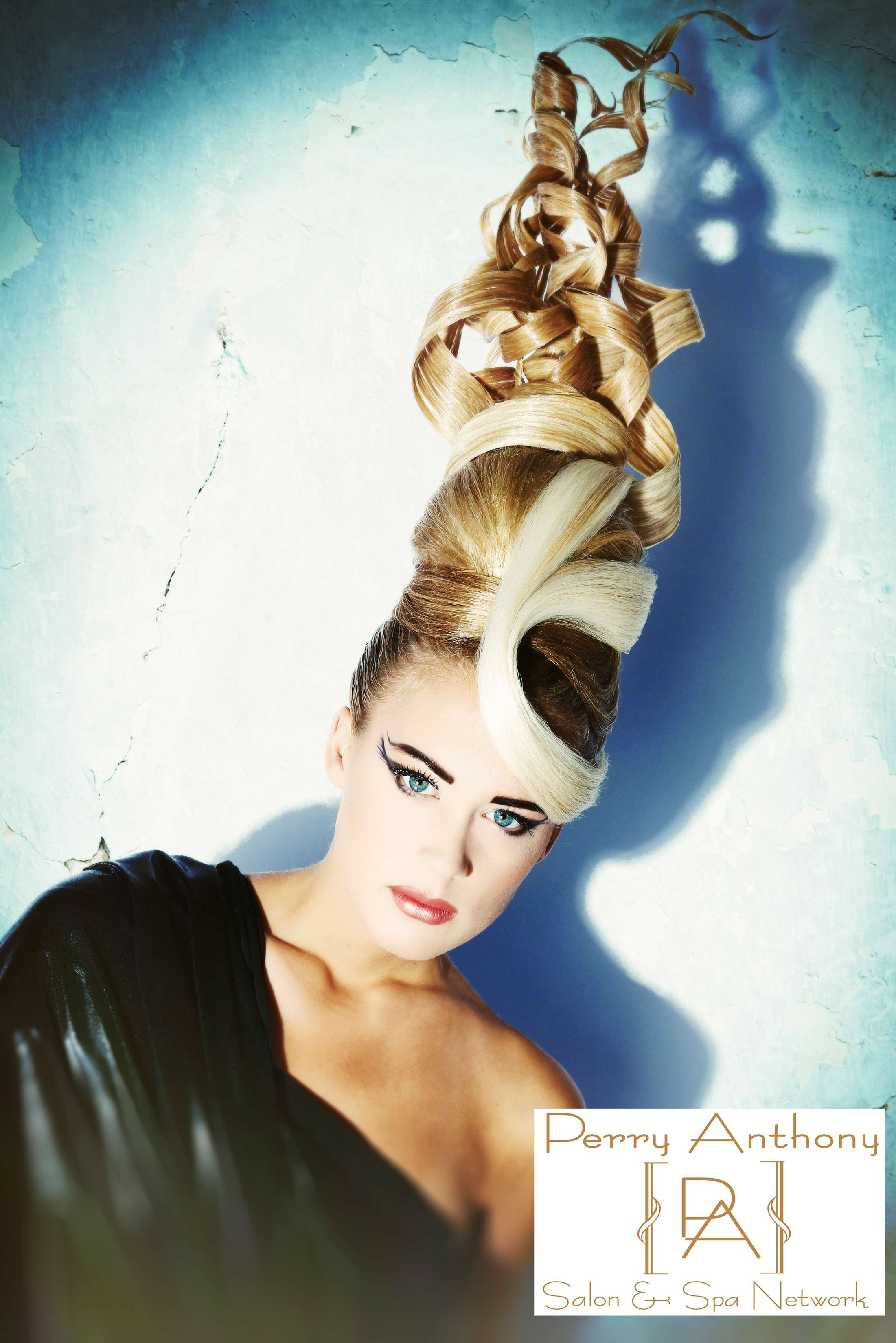 Perry Anthony Salon & Spa Wilmington DE avant garde hair updo