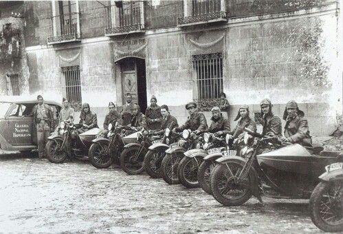 Guardia civil de la republica durante la guerra civil ...