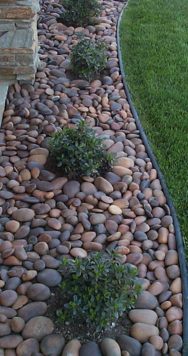 modern rock garden very elegant