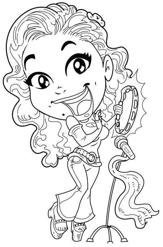 Welcome To Printable High Resolution Coloring Page. Most Of Us Have  Experienced Using Internet To Find Inform… Cool Coloring Pages, Coloring  Pages, Music Coloring