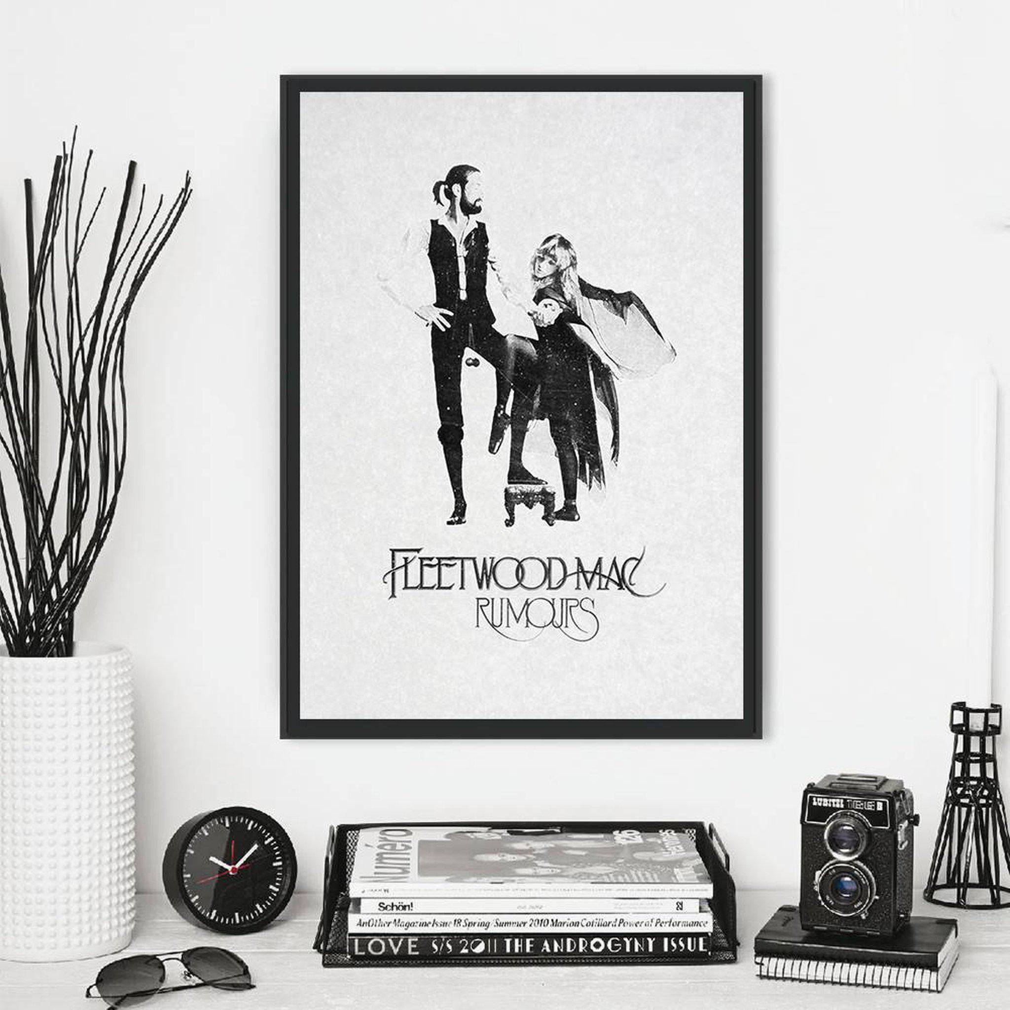 Fleetwood mac, vintage music poster в 2020 г.