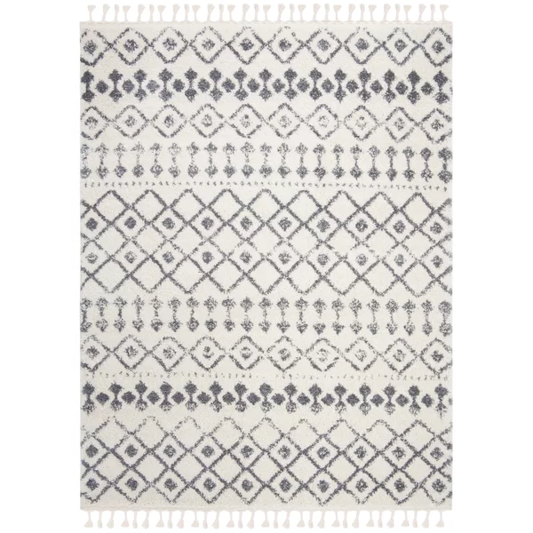 Triplett Fringe Shag Beige Gray Area Rug Union Rustic Triplett Fringe Shag Beige Gray Area Rug Reviews Wayfair A In 2020 Grey Area Rug Area Rugs Trellis Rug
