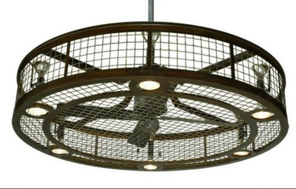 Image Of Caged Ceiling Fan Home Depot Industrial Ceiling Fan
