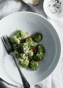 Ramps and Ricotta Ginoche RECIPE: http://www.bonchicblog.com/lifestyle/recipes/ramps-and-ricotta-ginoche/