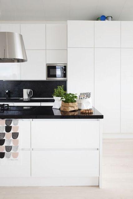 Cucine bianche e minimali [top 10] | Ideas for the House | Pinterest ...