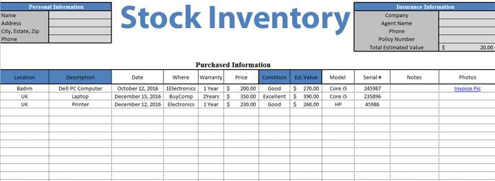 Daily Stock Maintain Template in Excel Sheet \u2013 Analysis Template - excel spreadsheets templates