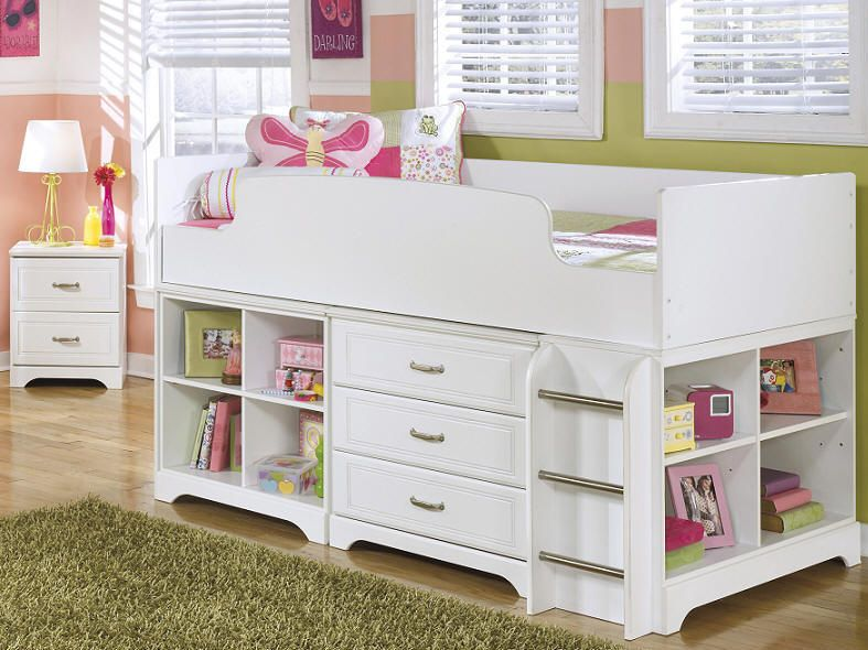 for wooden iigyhvm kids bunk loft single home white drawers storage decor beds with bed