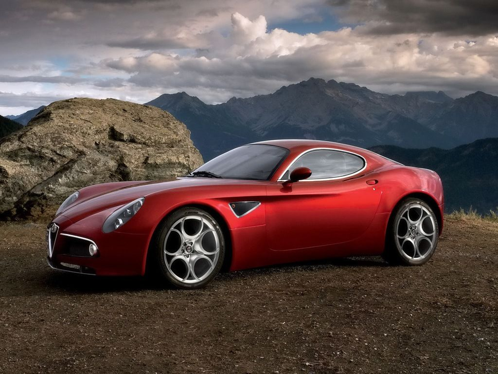 "Can A Car Ever Be Art?\"" Alfa Romeo 8c Competizione The 8c Was Alfa Romeo  Spider 1987 1991 Alfa Romeo Spider Fuse Box"