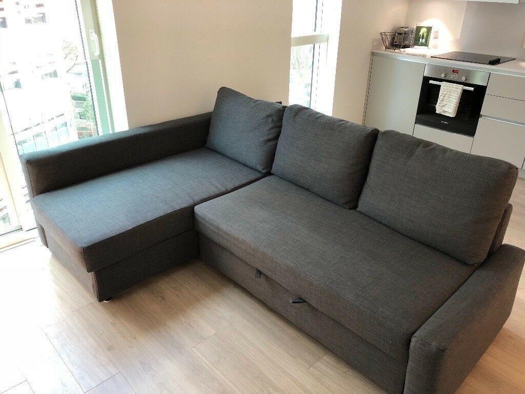 Beautifull Large Sofa Bed in 2020 Grey sofa bed, Large