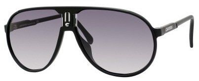 221e665adaecb Carrera Champion L S Sunglasses-0DL5 Semi Shiny Black (JJ Gray Grad Lens)- 62mm
