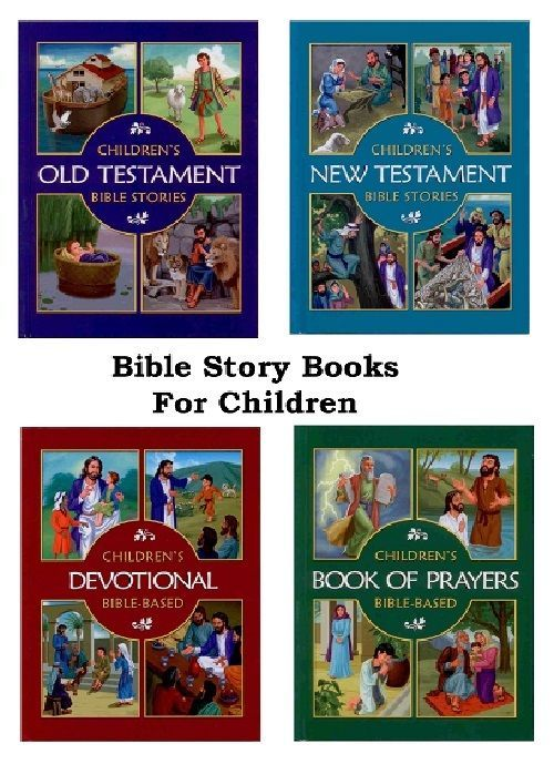 Bible Story Books For Children Christian Old And New