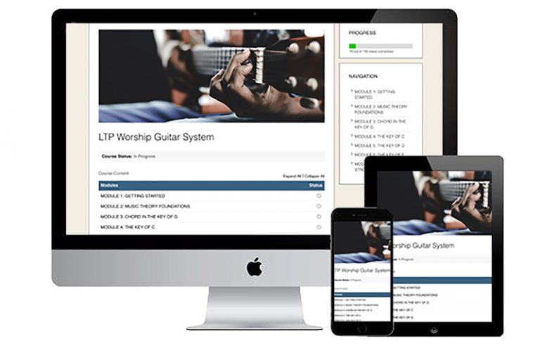 LTP Worship Guitar System Learn To Play Worship Guitar