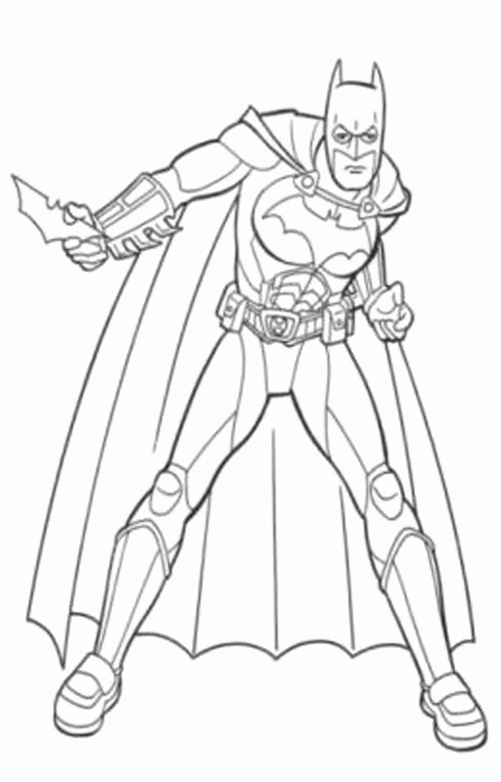 Coloring Pages for Kids Of Batman Coloring Pages for Kids