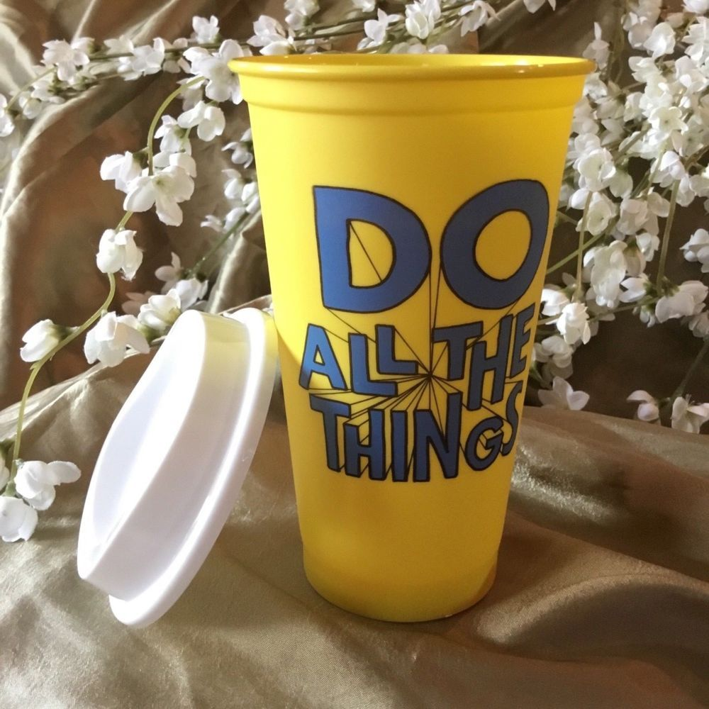 "Starbucks Coffee Reusable Cold Cup ""Do All the Things"""