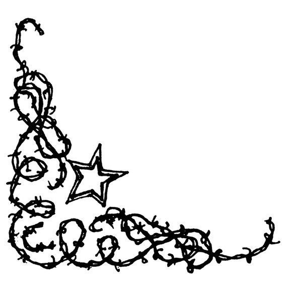 Barbed Wire Clip Art Borders - Vector And Clip Art Inspiration •