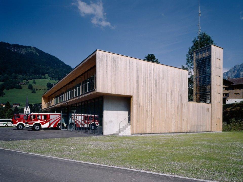 Dietrich Untertrifaller Architekten FEUERWEHR, MELLAU