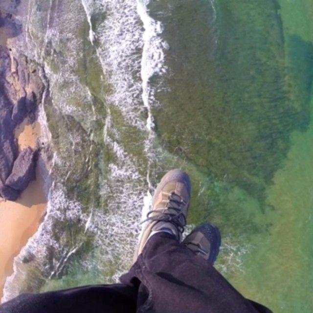 Look down!