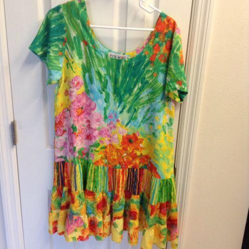 Jams World Hattie Dress Bouquet Burst Pattern Dress Size Medium https://t.co/rxNLECvuU7 https://t.co/Yk8dHmqLTU